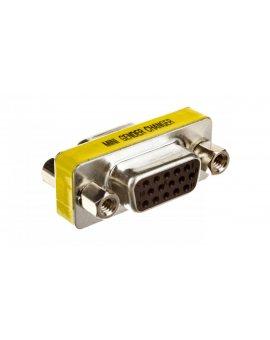 Adapter VGA D-Sub15 (F) - VGA D-Sub15 (F)