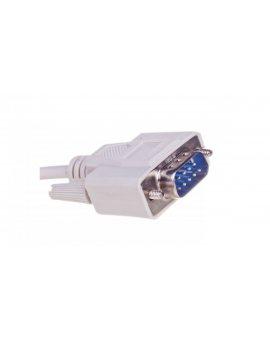 Kabel transmisyjny szeregowy RS232 Sub-D9 (M) - Sub-D9 (M) 1m