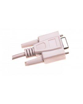 Kabel transmisyjny szeregowy RS232 Sub-D9 (F) - Sub-D9 (F) 1, 8m