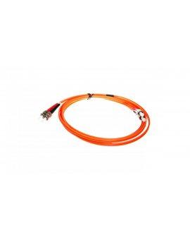 LCS Kabel krosowy ST-ST duplex OM2 2m pomarańczowy 033081