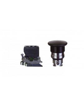 Przycisk bezpieczeństwa 22mm 1Z 0R IP65 z samopowrotem czarny XB4BC21