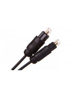 Przewód optyczny Toslink 1m 50216