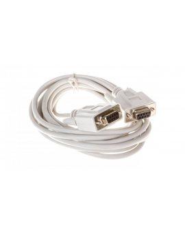 Kabel transmisyjny szeregowy RS232 Sub-D9 (F) - Sub-D9 (F) 3m