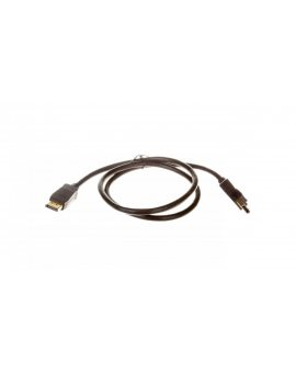 Kabel DisplayPort (M) - DisplayPort (M) 1m Gold