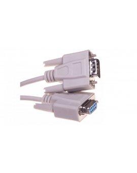 Kabel transmisyjny szeregowy RS232 Sub-D9 (F) - Sub-D9 (M) 2m 84064