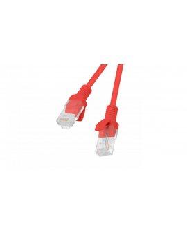Kabel krosowy patchcord U/UTP kat.6 15m czerwony