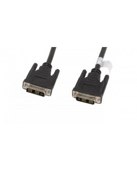 Kabel DVI-D(18+1) Full HD 1, 8m czarny CA-DVIS-10CC-0018-BK