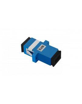 Tłumik światłowodowy SC/UPC(F)-SC/UPC(F) 5dB SM/54191