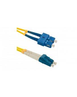 Patchcord światłowodowySC/UPC-LC/UPC SM 9/125 G652D 3m/54033