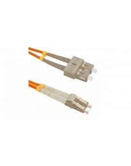 Patchcord światłowodowySC/UPC-LC/UPC MM 50/125 OM2 3m/54041
