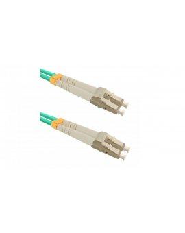 Patchcord światłowodowyLC/UPC-LC/UPC MM 50/125 OM3 2m/54076