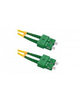 Patchcord światłowodowySC/APC-SC/APC SM 9/125 G652D 80m/54087