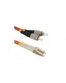 Patchcord światłowodowyLC/UPC-FC/UPC MM 50/125 OM2 1m/54055