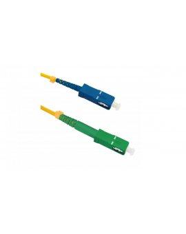 Patchcord światłowodowySC/APC-SC/UPC SM 9/125 G652D 3m/54291