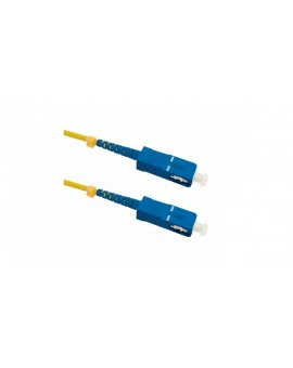 Patchcord światłowodowySC/UPC-SC/UPC SM 9/125 G652D 10m/54302
