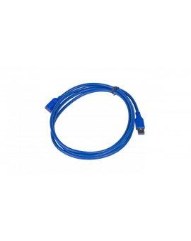 Kabel USB AK-USB-10 przedłużacz USB A (m) / USB A (f) ver. 3.0 1.8m AK-USB-10