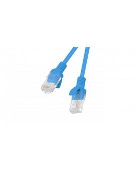 Kabel krosowy patchcord F/UTP kat.5e 10m niebieski PCF5-10CC-1000-B