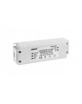 Zasilacz LED 12V DC 50W 4, 2A IP20 OR-ZL-1616