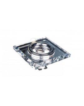 Oprawa punktowa 1x50W Gx5, 3 12V IP20 MORTA CT-DSL50-SR szkło srebrna 18512
