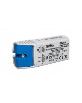 Transformator elektroniczny 230/11, 5V 0-60W ETZ60 LDX10000042