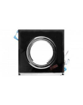 Oprawa punktowa 1x50W Gx5, 3 12V IP20 MORTA CT-DSL50-B szkło czarna 18510