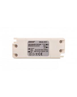 Zasilacz LED 12V DC 12W 1A IP20 OR-ZL-1611