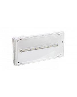 Oprawa awaryjna EXIT LED 3W 350lm 1h jednozadaniowa AT biała ETE/3W/B/1/SE/AT/WH