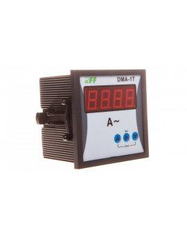 Wskaźnik natężenia prądu 1-fazowy cyfrowy tablicowy 1-9000A do pracy z przekładnikiem 5A DMA-1T