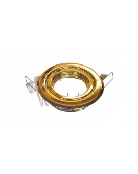 Oprawa punktowa 1x 50W G4 IIIkl. 12-V IP20 CT-2115-G złoto 304