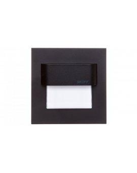 Oprawa LED 0, 8W TANGO D (czarny) / W (biały)aluminium IP20 ML-TAN-D-W-1-PL-00-01