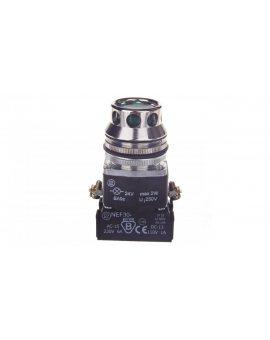 Przycisk sterowniczy 30mm zielony 1Z 1R z samopowrotem z podświetleniem W0-NEF30-KL XY Z