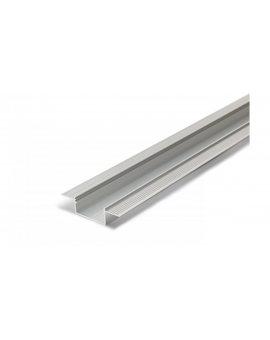 Profil led Vario30-04 ACDE-9 2m srebrny surowy aluminiowy do zagipsowania V3140000 LUX06591