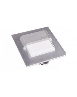 Oprawa LED 0.8W 10V IP20 TANGO ALU aluminium cieplo biała 02-01-02-01-0234