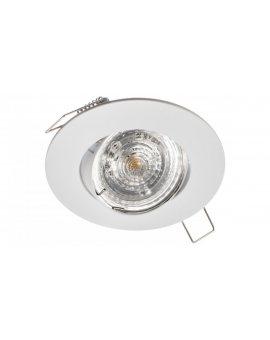 Oprawa punktowa wpuszczana regulowana okrągła GAMA-R biała matowa (stop aluminium) LUX00483