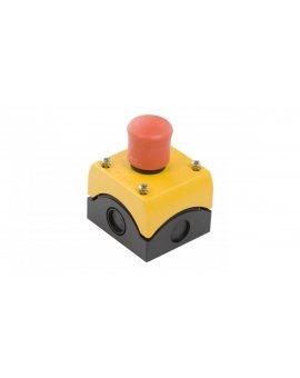 Kaseta z przyciskiem bezpieczeństwa przez pociągnięcie 2R IP66 M22-PV/KC02/IY 216524
