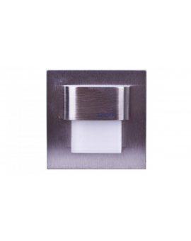Oprawa LED 0, 4W 10V TANGO mini K(szlif) / WW (ciepły biały) INOX IP56