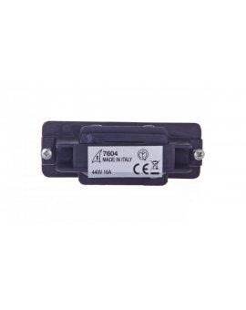 Łącznik prosty czarny IV7604-10-W30