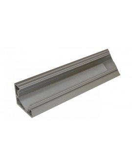 Profil kątowy aluminiowy anodowany 1m MINILUX do taśm led LUX00173
