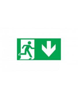 Piktogram wyjście w dół prawo E8 do OXIMIA, ramki dwustronnej ORION, SUPREMA INTELIGHT-97999