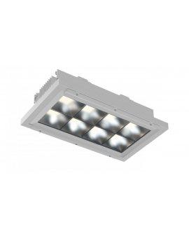 Oprawa przemysłowa LED 190W SPACE L 840 DALI Dyfuzyjna Szyba czarna 9005 IP66 75st. 23000lm 033302D840-DS11-0007