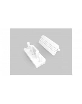 Zaślepka do profil Surface10 biała GEN2 - 1szt LUX06987