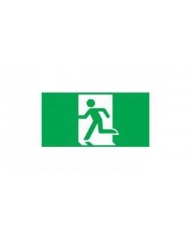 Piktogram wyjście ewakuacyjne E1 do OXIMIA, ramki dwustronnej ORION, SUPREMA INTELIGHT-98006