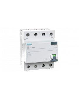 Wyłącznik różnicowoprądowy 4P 40A 0, 03A typ AC 5SV4344-0