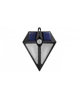 Lampa solarna ścienna 6 LED Maclean Energy z czujnikiem ruchu MCE168 2x solar MCE168