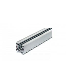 Zestaw 5x lampa PARMA Luxsystem-3F biała z żarówką led gu10 5W ciepła biała + szynoprzewód 2m kolor biały