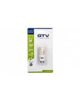 Żarówka LED SMD 2835 neutralna biała G9 3, 5W AC 220-240V 360st. LD-G9P35W-40