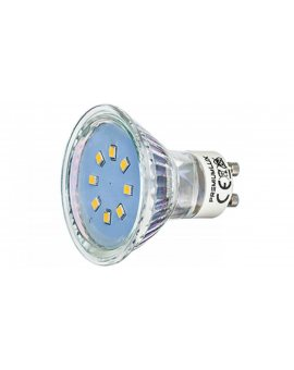 Żarówka gu10 8 led smd 2835 1W zimna LUX01613