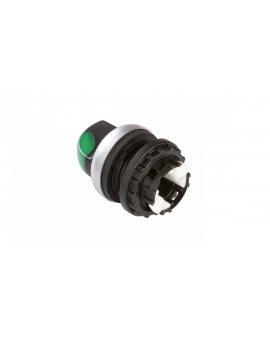 Napęd przełącznika 2 położeniowy zielony z podświetleniem bez samopowrotu M22-WRLK-G 216827