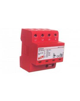 Ogranicznik przepięć B+C Typ 1+2 4P 12, 5kA/50kA 1, 5kV DEHNshield TNS 255 941400