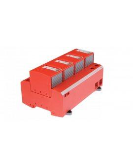 Ogranicznik przepięć B+C Typ 1+2 4P 25/100kA 1, 5kV DEHNventil M TNS 255 951400